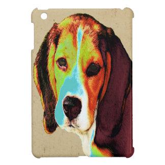 Étui iPad Mini Art de bruit de beagle
