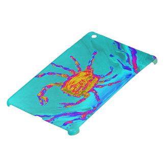 Étui iPad Mini Art sous-marin de crabe frais