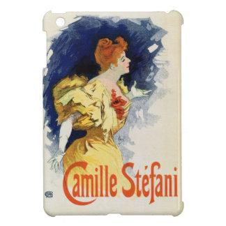 Étui iPad Mini Artiste féminin français vintage Camille Stéfani
