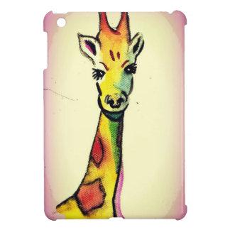 Étui iPad Mini Bande dessinée de girafe