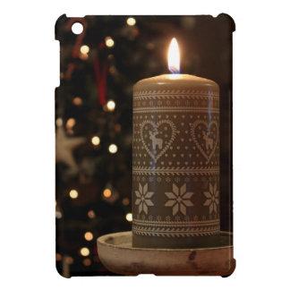Étui iPad Mini Bougie de Noël