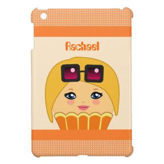 Étui iPad Mini Caractère mignon orange et jaune de Kawaii de