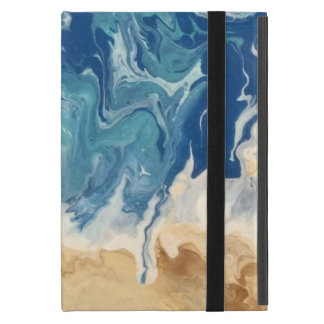 Étui iPad Mini Cas d'iPad abstrait de plage mini (aucun