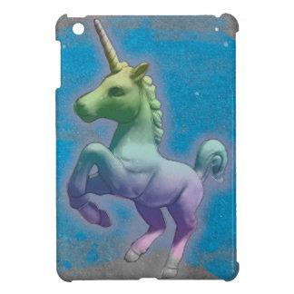 Étui iPad Mini Cas d'iPad de licorne mini (nébuleuse bleue)
