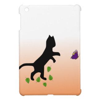 Étui iPad Mini Chat avec le papillon