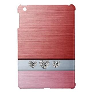 Étui iPad Mini Coeurs mignons adorables gais de diamant