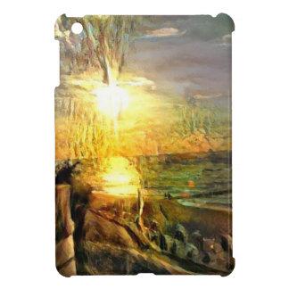Étui iPad Mini Coucher du soleil sur la plage