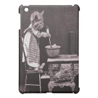 Étui iPad Mini Cuisine de chaton sur le fourneau