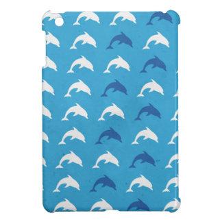 Étui iPad Mini Dauphins bleus