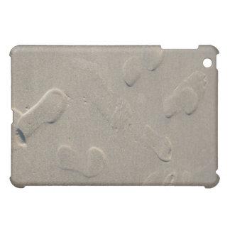 Étui iPad Mini Empreintes de pas sur la plage