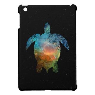 Étui iPad Mini Enfermez la mini tortue de mer de cas d'iPad