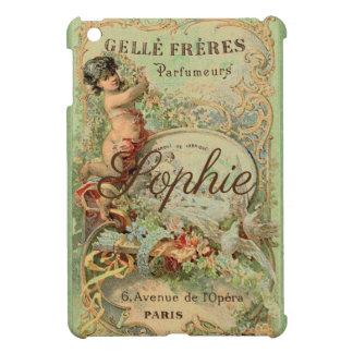 Étui iPad Mini Étiquette vintage/victorien Personnalised de