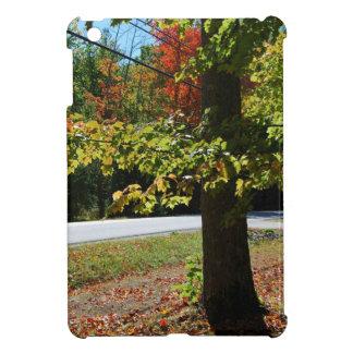Étui iPad Mini Feuille d'automne au Maine