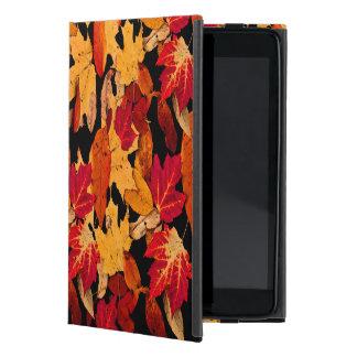 Étui iPad Mini Feuille d'automne dans Brown jaune orange rouge