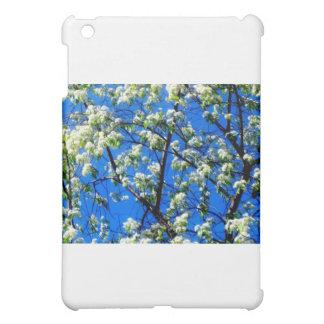 Étui iPad Mini Fleurs de neige