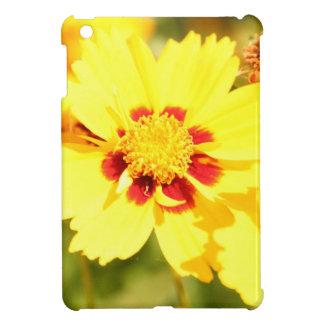 Étui iPad Mini Fleurs jaunes