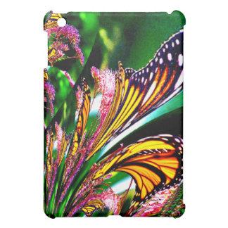 Étui iPad Mini Fontaine de conception de fractale de papillons