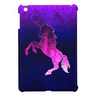 Étui iPad Mini Image scintillante de belle licorne rose de