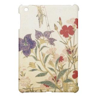 Étui iPad Mini Insectes et fleurs par Utamaro