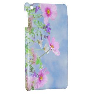 Étui iPad Mini iPadcase romantique rose de Butterflyflowers