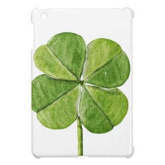 Étui iPad Mini Jour chanceux vert de Patrick de saint de trèfle