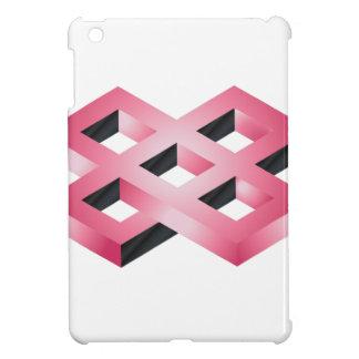 Étui iPad Mini La géométrie rose impossible