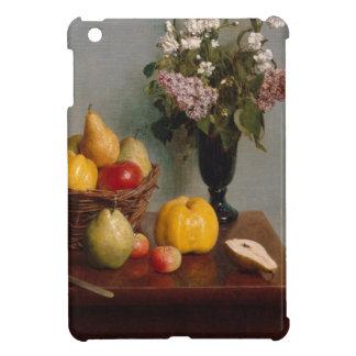 Étui iPad Mini La vie toujours avec les fleurs et le fruit