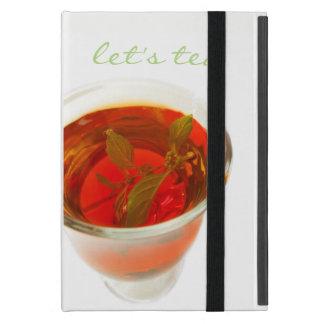 Étui iPad Mini laissez-nous thé