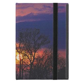 Étui iPad Mini Lever de soleil d'aube et art 4 de nature de