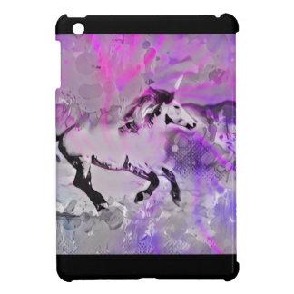 Étui iPad Mini Licorne galactique