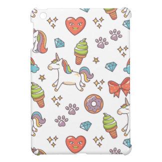 Étui iPad Mini Licorne magique mignonne