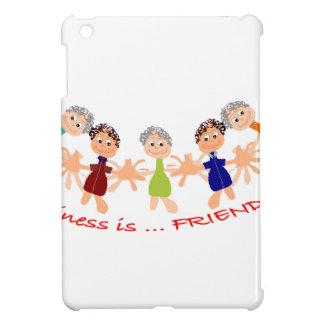 """Étui iPad Mini L'industrie graphique avec """"bonheur est… Texte"""