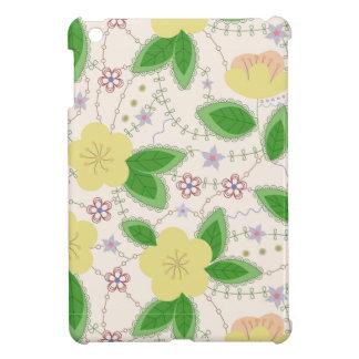 Étui iPad Mini mini cas d'iPad avec des fleurs de pomme