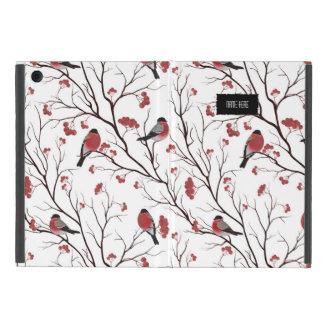Étui iPad Mini Oiseaux et baies d'hiver
