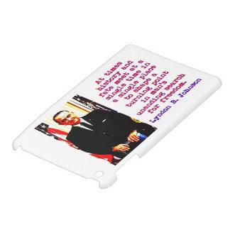 Étui iPad Mini Parfois histoire et destin - Lyndon Johnson
