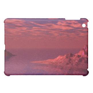 Étui iPad Mini Paysage d'imaginaire - montagnes à l'aube