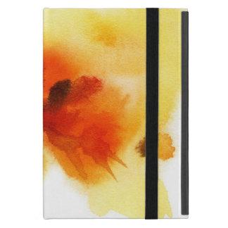 Étui iPad Mini Peintures florales abstraites 2 d'aquarelle