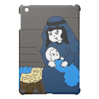 Étui iPad Mini Petits Mary et Jésus