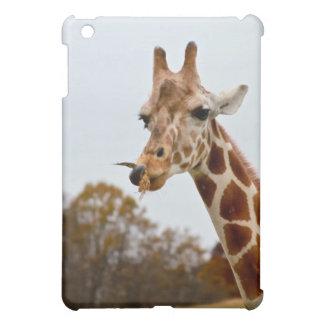 Étui iPad Mini Photo d'animaux sauvages de la girafe |