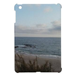 Étui iPad Mini plage isolée