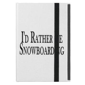 Étui iPad Mini Plutôt fasse du surf des neiges