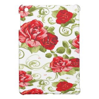 Étui iPad Mini Roses vintages romantiques gais adorables