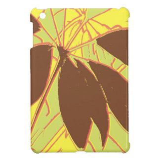 Étui iPad Mini Rouge de vert jaune d'usine de Chambre