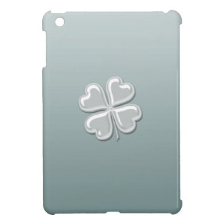 Étui iPad Mini Shamrock chanceux de perle chic adorable avec du