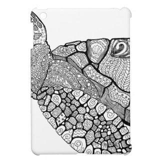Étui iPad Mini Tortue de mer florale