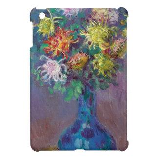 Étui iPad Mini Vase de chrysanthèmes Claude Monet