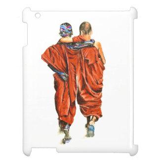 Étui iPad Moines bouddhistes