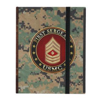 Étui iPad U.S. Marines : Premier sergent (usmc 1stSgt) [3D]