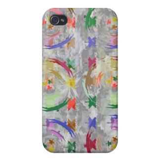 Étui iPhone 4/4S Collage multicouche - hauts oiseaux minuscules