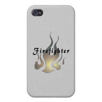 Étui iPhone 4/4S Décalque de sapeur-pompier